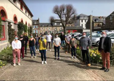 Des ambassadeurs du tri à Plurien -Ouest France - 7 avril